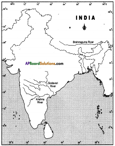AP SSC 10th Class Social Studies Solutions Chapter 1 India Relief Features Q12