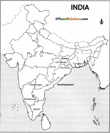 AP Board 9th Class Social Studies Solutions Chapter 7 Industries in India 2