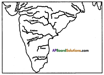 AP SSC 10th Class Social Studies Important Questions Chapter 5 Indian Rivers and Water Resources 1