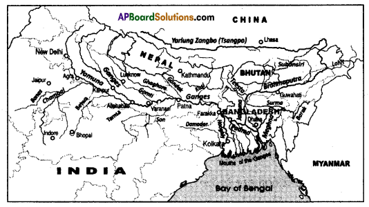 AP SSC 10th Class Social Studies Important Questions Chapter 5 Indian Rivers and Water Resources 3