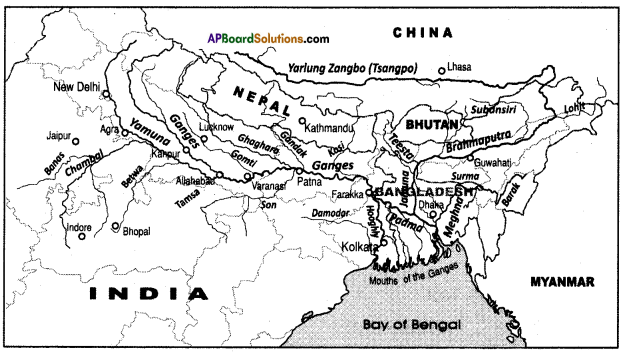 AP SSC 10th Class Social Studies Important Questions Chapter 5 Indian Rivers and Water Resources 6