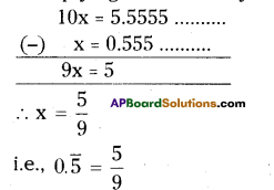 AP Board 9th Class Maths Solutions Chapter 1 Real Numbers Ex 1.1 10