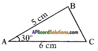 AP SSC 10th Class Maths Solutions Chapter 12 Applications of Trigonometry Ex 12.1 11