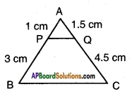 AP SSC 10th Class Maths Solutions Chapter 8 Similar Triangles Ex 8.3 10
