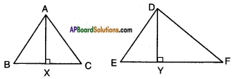 AP SSC 10th Class Maths Solutions Chapter 8 Similar Triangles Ex 8.3 11