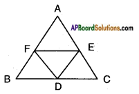 AP SSC 10th Class Maths Solutions Chapter 8 Similar Triangles Ex 8.3 5