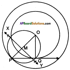AP SSC 10th Class Maths Solutions Chapter 9 Tangents and Secants to a Circle Ex 9.2 11