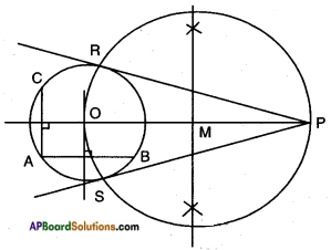 AP SSC 10th Class Maths Solutions Chapter 9 Tangents and Secants to a Circle Ex 9.2 12