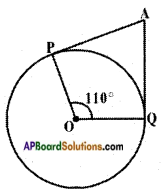 AP SSC 10th Class Maths Solutions Chapter 9 Tangents and Secants to a Circle Ex 9.2 2