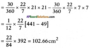 AP SSC 10th Class Maths Solutions Chapter 9 Tangents and Secants to a Circle Ex 9.3 11