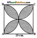 AP SSC 10th Class Maths Solutions Chapter 9 Tangents and Secants to a Circle Ex 9.3 5