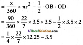AP SSC 10th Class Maths Solutions Chapter 9 Tangents and Secants to a Circle Ex 9.3 9