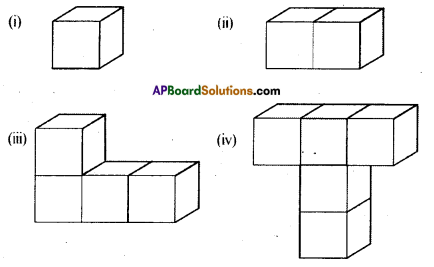 AP Board 8th Class Maths Solutions Chapter 13 Visualizing 3-D in 2-D Ex 13.1 1
