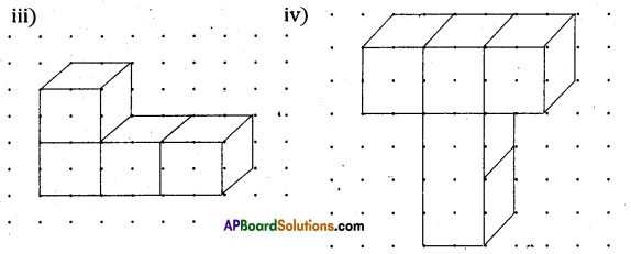 AP Board 8th Class Maths Solutions Chapter 13 Visualizing 3-D in 2-D Ex 13.1 3