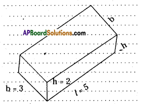 AP Board 8th Class Maths Solutions Chapter 13 Visualizing 3-D in 2-D Ex 13.1 4