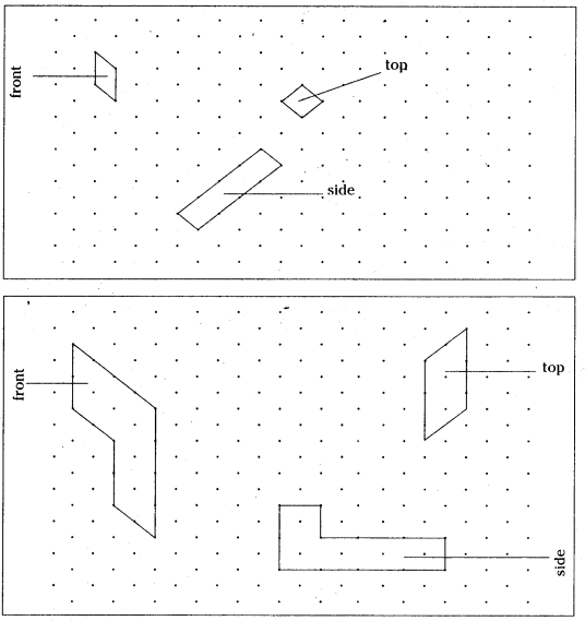 AP Board 8th Class Maths Solutions Chapter 13 Visualizing 3-D in 2-D Ex 13.1 8