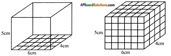 AP Board 8th Class Maths Solutions Chapter 14 Surface Areas and Volume (Cube-Cuboid) InText Questions 2