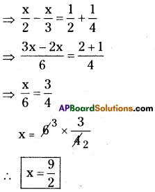 AP Board 8th Class Maths Solutions Chapter 2 Linear Equations in One Variable Ex 2.5 7