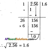 AP Board 8th Class Maths Solutions Chapter 6 Square Roots and Cube Roots Ex 6.3 6