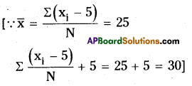 AP Board 8th Class Maths Solutions Chapter 7 Frequency Distribution Tables and Graphs Ex 7.1 3