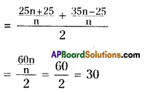 AP Board 8th Class Maths Solutions Chapter 7 Frequency Distribution Tables and Graphs Ex 7.1 8