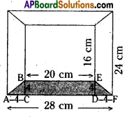 AP Board 8th Class Maths Solutions Chapter 8 Area of Plane Figures Ex 9.1 15