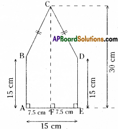 AP Board 8th Class Maths Solutions Chapter 8 Area of Plane Figures Ex 9.1 21
