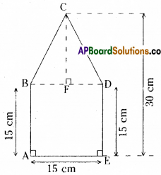AP Board 8th Class Maths Solutions Chapter 8 Area of Plane Figures Ex 9.1 23