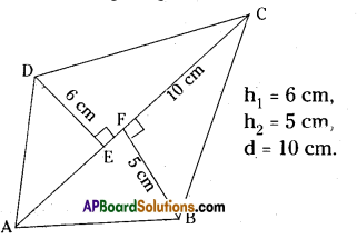 AP Board 8th Class Maths Solutions Chapter 8 Area of Plane Figures Ex 9.1 24