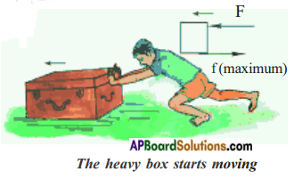 AP Board 8th Class Physical Science Solutions Chapter 2 Friction 4