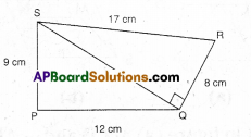 AP Board 9th Class Maths Solutions Chapter 11 Areas Ex 11.1 2