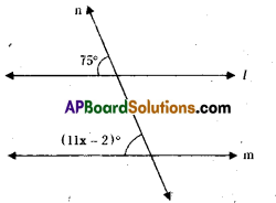 AP Board 9th Class Maths Solutions Chapter 4 Lines and Angles InText Questions 20