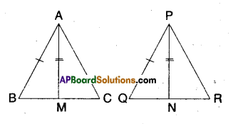 AP Board 9th Class Maths Solutions Chapter 7 Triangles Ex 7.3 2