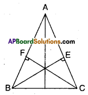 AP Board 9th Class Maths Solutions Chapter 7 Triangles Ex 7.3 3