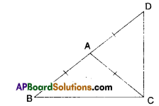 AP Board 9th Class Maths Solutions Chapter 7 Triangles Ex 7.3 5