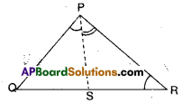 AP Board 9th Class Maths Solutions Chapter 7 Triangles Ex 7.4 6