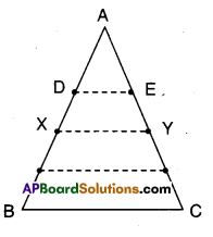 AP Board 9th Class Maths Solutions Chapter 8 Quadrilaterals Ex 8.4 1