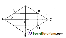 AP Board 9th Class Maths Solutions Chapter 8 Quadrilaterals Ex 8.4 3