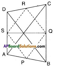 AP Board 9th Class Maths Solutions Chapter 8 Quadrilaterals Ex 8.4 5