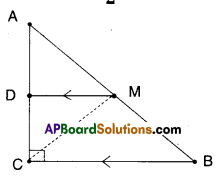 AP Board 9th Class Maths Solutions Chapter 8 Quadrilaterals Ex 8.4 6