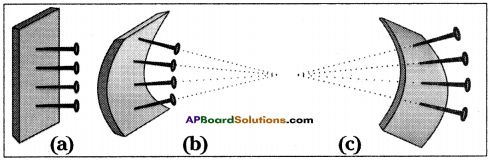 AP Board 9th Class Physical Science Solutions Chapter 7 Reflection of Light at Curved Surfaces 22