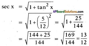 AP SSC 10th Class Maths Solutions Chapter 11 Trigonometry InText Questions 25