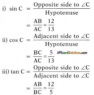 AP SSC 10th Class Maths Solutions Chapter 11 Trigonometry InText Questions 4