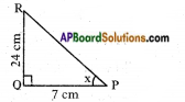 AP SSC 10th Class Maths Solutions Chapter 11 Trigonometry InText Questions 7
