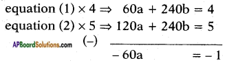 AP SSC 10th Class Maths Solutions Chapter 4 Pair of Linear Equations in Two Variables Ex 4.3 17