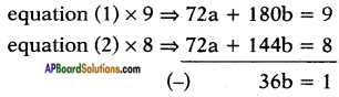 AP SSC 10th Class Maths Solutions Chapter 4 Pair of Linear Equations in Two Variables Ex 4.3 20
