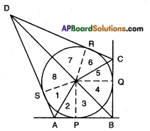 AP SSC 10th Class Maths Solutions Chapter 9 Tangents and Secants to a Circle Optional Exercise 6