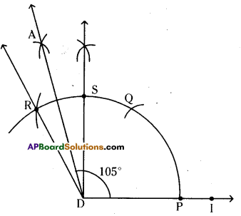 AP Board 6th Class Maths Solutions Chapter 10 Practical Geometry Ex 10.4 5