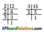 AP Board 6th Class Maths Solutions Chapter 3 HCF and LCM Ex 3.6 1