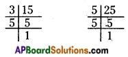 AP Board 6th Class Maths Solutions Chapter 3 HCF and LCM Ex 3.6 2